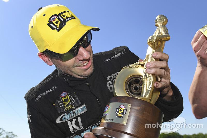 Pro Stock winner Matt Hartford