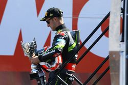 Le vainqueur de la course Jonathan Rea, Kawasaki Racing