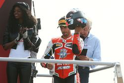 Podium: third place Raffaele De Rosa, MV Agusta Reparto Corse by Vamag