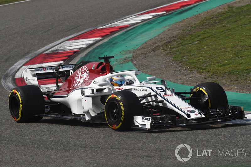 6. Marcus Ericsson, 97 GPs (2014 a 2018), melhor resultado foi o 8º lugar na Austrália 2014.