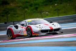 #54 Spirit of Race Ferrari F488 GTE: Thomas Flohr, Francesco Castellacci