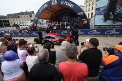 Автомобиль Ligier JSP217 Gibson (№34) команды Jackie Chan DC Racing
