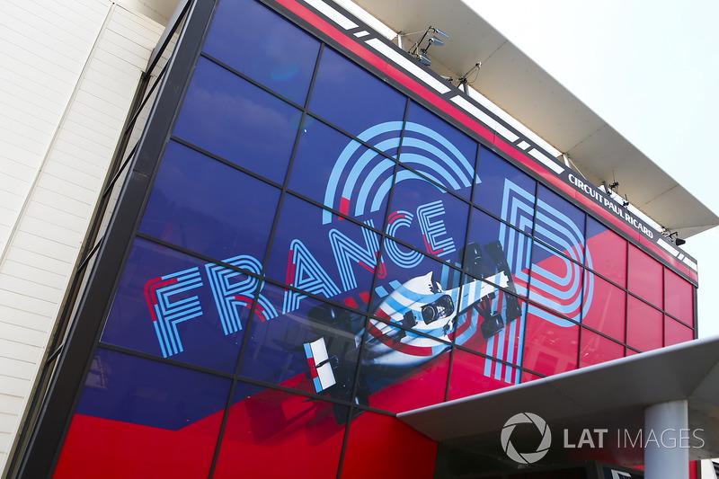 Une affiche du GP de France
