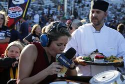 Ryan Hunter-Reay, Andretti Autosport Honda, als Gast der Show