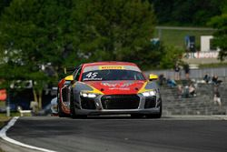 #45 Flying Lizard Motorsports Audi R8 LMS GT4: Mike Hedlund