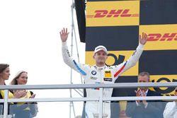 Podio: il terzo classificato Marco Wittmann, BMW Team RMG, BMW M4 DTM