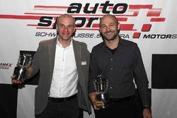 Sébastien Carron à la cérémonie des champions de ASS à Berne