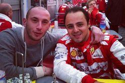 Luca Vacis e Felipe Massa