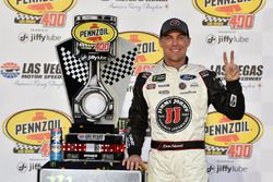 Kevin Harvick, Stewart-Haas Racing, Ford Fusion Jimmy John's celebrates his win