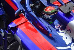 Toro Rosso STR13, detalle halo
