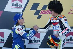 Podyum: Yarış galibi Valentino Rossi, 2. Sete Gibernau