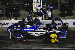 Takuma Sato, Rahal Letterman Lanigan Racing Honda pitstop