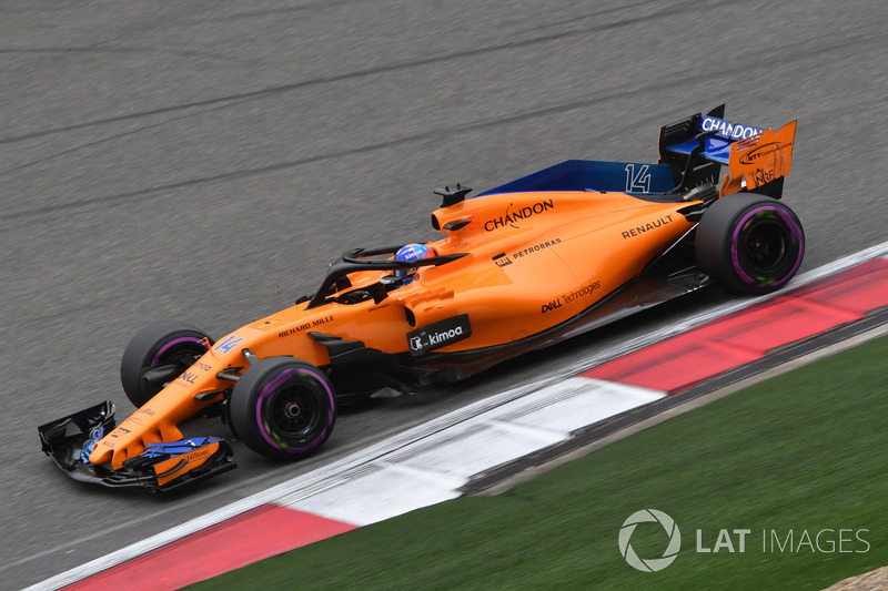 13. Fernando Alonso, McLaren MCL33