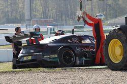 Lucas Auer, Mercedes-AMG Team HWA, Mercedes-AMG C63 DTM çakıl havuzunda