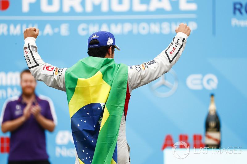 Segundo lugar Lucas di Grassi, Audi Sport ABT Schaeffler