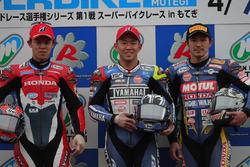 レース1表彰台