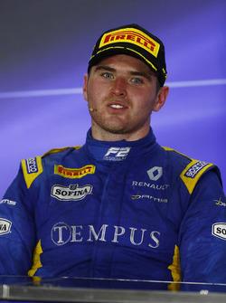 Le vainqueur Oliver Rowland, DAMS (disqualifié)