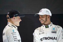 Podium: Race winner Valtteri Bottas, Mercedes AMG F1, second place Lewis Hamilton, Mercedes AMG F1