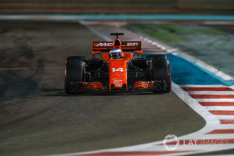 Fernando Alonso, McLaren MCL32, 2017