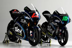 Sky Racing Team VR46 launch: Moto2 pilotos Francesco Bagnaia, Luca Marini