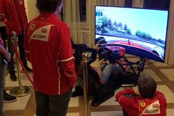 Ferrari Driver Academy training
