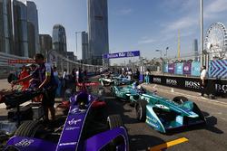 Alex Lynn, DS Virgin Racing, Kamui Kobayashi, Andretti Formula E