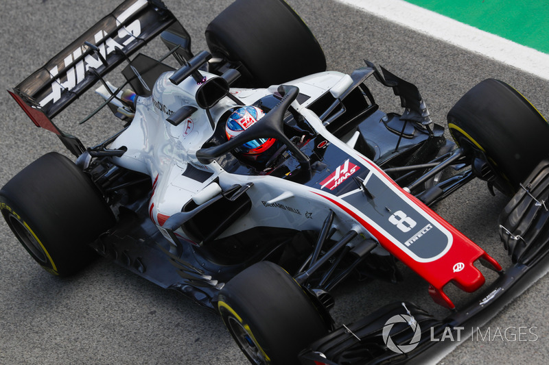 7. Romain Grosjean, Haas F1 Team VF-18