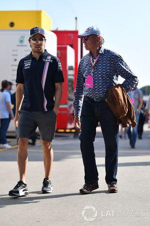 Sergio Perez, Force India and Jo Ramirez