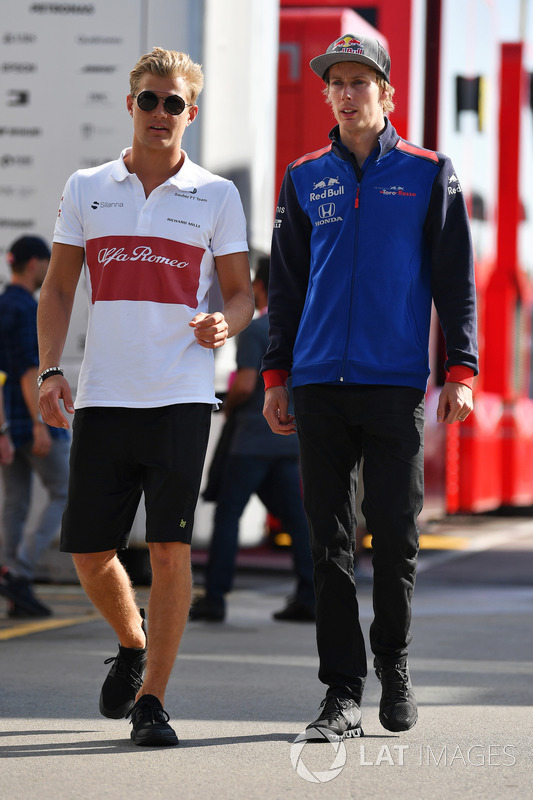 Marcus Ericsson, Sauber e Brendon Hartley, Scuderia Toro Rosso