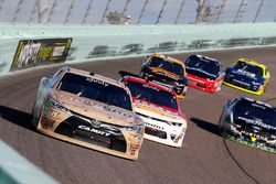 Matt Tifft, Joe Gibbs Racing Toyota and Michael Annett, JR Motorsports Chevrolet