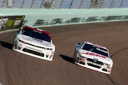 Cole Custer, Stewart-Haas Racing Ford and Tyler Reddick, Chip Ganassi Racing Chevrolet
