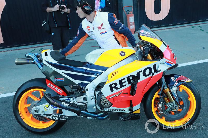 Bike of Marc Marquez, Repsol Honda Team