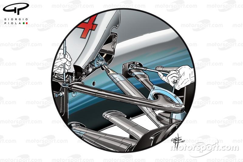 Mercedes: Vorderradaufhängung