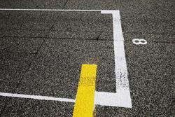Starting grid detail