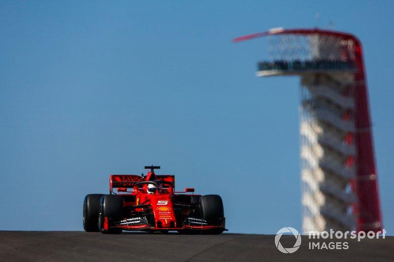 2.- Sebastian Vettel, Ferrari SF90, 1m32.041s