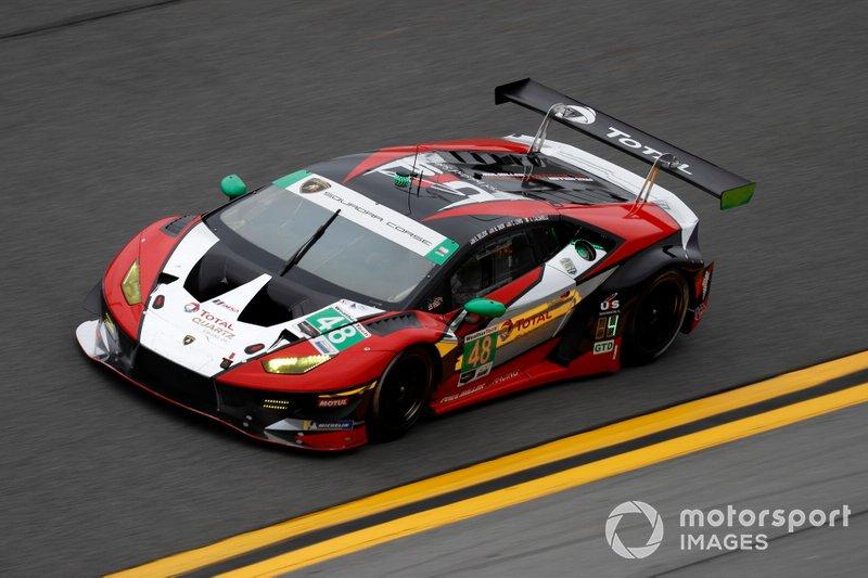 #48 Paul Miller Racing Lamborghini Huracan GT3, GTD: Madison Snow, Bryan Sellers, Corey Lewis, Andrea Caldarelli