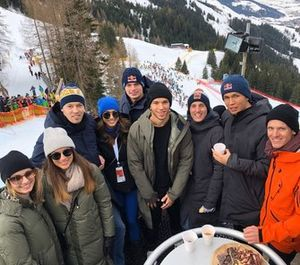 Max Verstappen, Pierre Gasly, Alex Albon, Daniil Kvyat