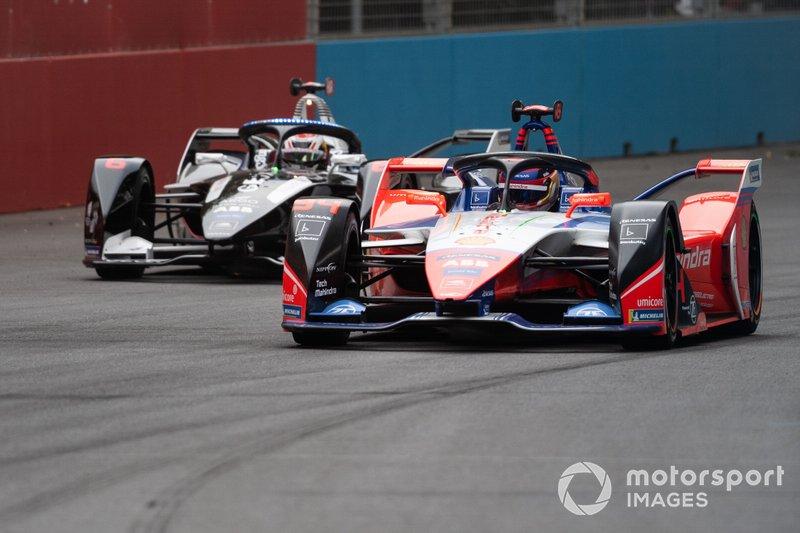 Pascal Wehrlein, Mahindra Racing, M6Electro Brendon Hartley, Dragon Racing, Penske EV-4
