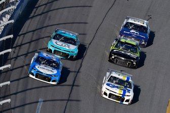 Brennan Poole, Premium Motorsports, Chevrolet Camaro SpartanGO and Ryan Preece, JTG Daugherty Racing, Chevrolet Camaro Cottonelle