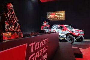 Toyota Gazoo Racing, Dakar press conference