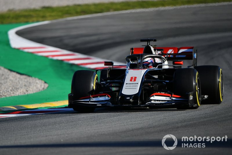 Роман Грожан, Haas F1 Team VF-20