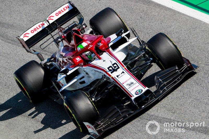 Antonio Giovinazzi, Alfa Romeo Racing C39