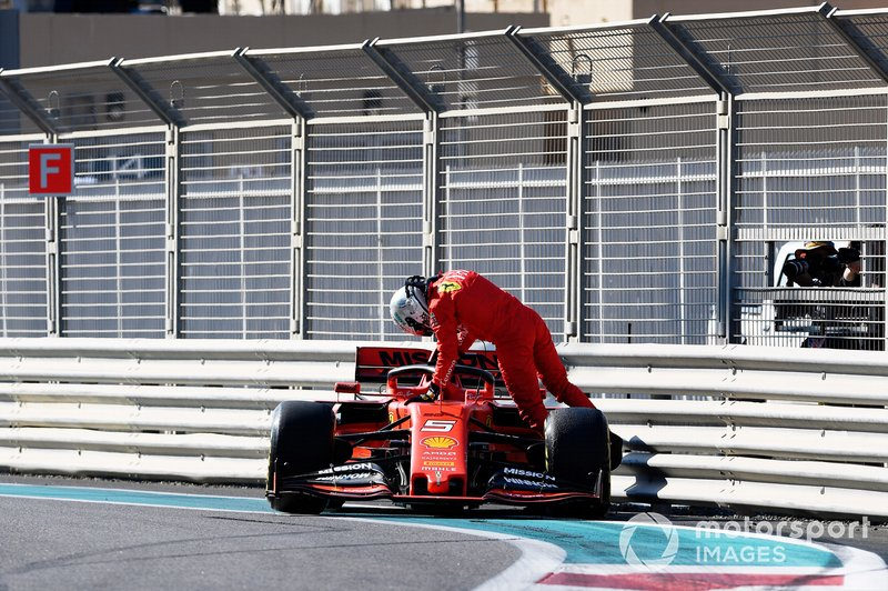 Incidente di Sebastian Vettel, Ferrari SF90