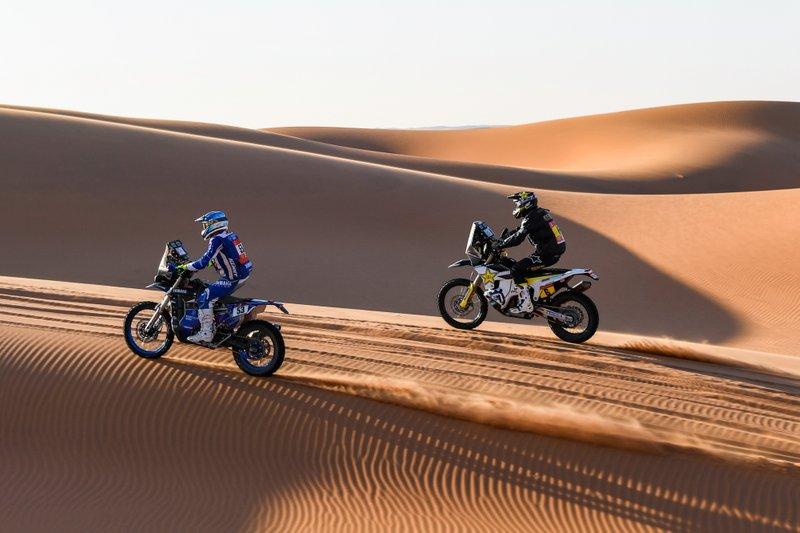 #53 Yamaha: Antonio Maio, #6 Rockstar Energy Husqvarna Factory Racing: Andrew Short