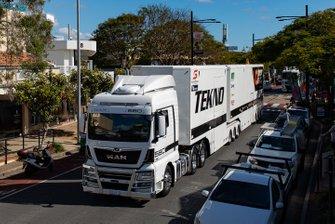 Tekno Autosports transporter