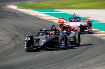 Sébastien Buemi, Nissan e.Dams, Nissan IMO2 Pascal Wehrlein, Mahindra Racing, M6Electro