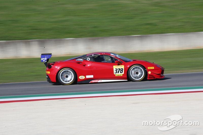 #378 Ferrari 488 Challenge, Ferrari of Newport Beach: Al Hegyi