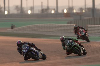 Alex Lowes, Pata Yamaha, Leon Haslam, Kawasaki Racing Team, Chaz Davies, Aruba.it Racing-Ducati Team