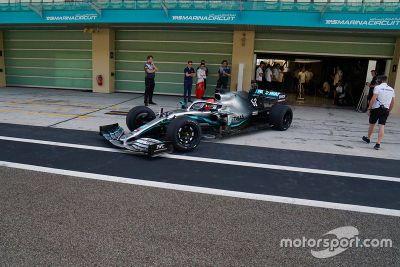 Test Pirelli December Abu Dhabi