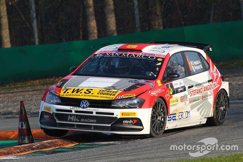 Andrea Crugnola, VW Polo en el Monza Rally Show